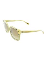 Lanvin Full Rim Square Sunglasses for Unisex, Grey Lens, SLN504-57-D15, 57/16/140