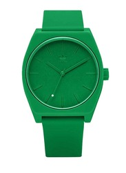 Adidas Process SP1 Analog Unisex Watch with Silicone Band, Water Resistant, Z10-2905-00, Green