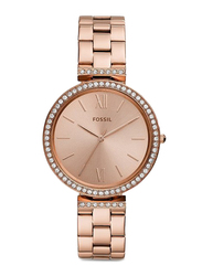 Fossil Limited Collection Madeline Analog Watch for Women with Stainless Steel Band, Water Resistant, ES4641, Rose Gold