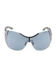 Gf Ferre Rimless Oval Sunglasses for Women, Grey Lens, SG GFF 970 03 00 61, 61/115