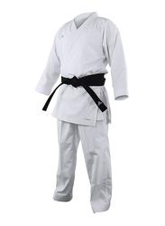 Adidas 140cm Revoflex Karate Uniform without Belt, K190SK, White