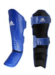 Adidas Extra Small Super Pro Boxing Shin-N-Step Pad, 2.0, Blue/White