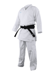 Adidas 170cm Revoflex Karate Uniform without Belt, K190SK, White