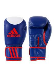 Adidas 10-oz Kspeed200 Kick Boxing Gloves, Blue/White