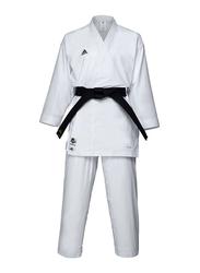 Adidas 200cm Karate Uniform without Belt, K191SK, White