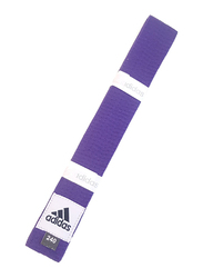 Adidas 240cm Club Karate Belt, ADIB220, Purple