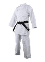 Adidas 170cm Kumite Fighter Karate Uniform, Brilliant White