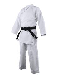 Adidas 140cm Kumite Fighter Karate Uniform, Brilliant White