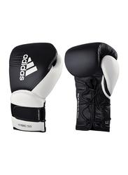 Adidas 14-oz Hybrid 350 Elite Training Gloves, Black/White