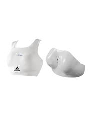 Adidas Extra Large WKF Body Protector, White