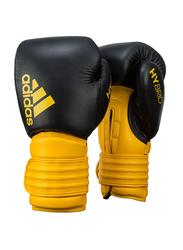 Adidas 14-oz Hybrid 300 Boxing Gloves, Yellow/Black
