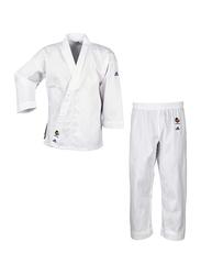 Adidas 190/200cm Evolution Karate Uniform, Brilliant White