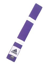 Adidas 280cm Club Karate Belt, ADIB220, Purple