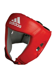 Adidas Extra Large Aiba Boxing Head Guard, Red