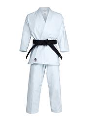 Adidas 160cm Kigai 2.0 Japanese Cut Karate Uniform without Belt, K888J_2.0, White