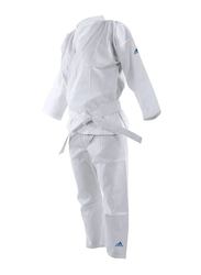 Adidas 190cm Adi-Start Karate Uniform, Brilliant White