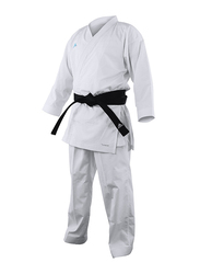 Adidas 155cm Revoflex Karate Uniform without Belt, K190SK, White