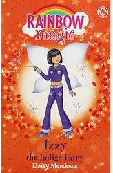 Rainbow Magic The Rainbow Fairies 6 Izzy, The Indigo Fairy, Paperback Book, By: Daisy Meadows