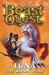 Beast Quest Series 4 Book 4 Luna The Moon Wolf, Paperback Book, By: Adam Blade