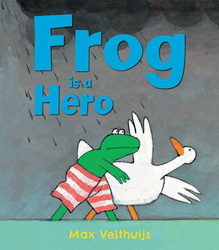 Frog Is A Hero, Paperback Book, By: Max Velthuijs