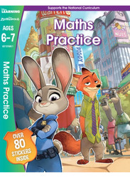 Disney Learning Zootropolis Maths Practice, Ages 6-7, Paperback Book, By: Scholastic