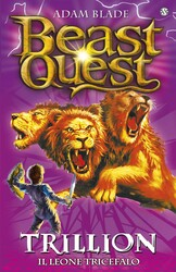 Beast Quest Series 2 6 Trillion The Three Headed Lion, Paperback Book, By: Adam Blade