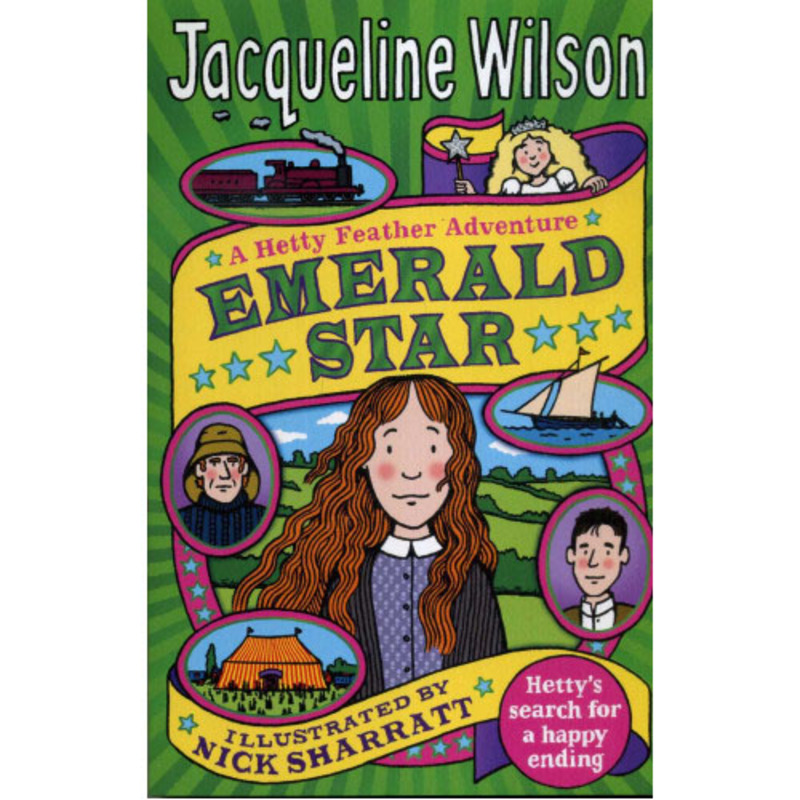 Emerald Star: Hetty's Search for a Happy Ending, Paperback Book, By: Jacqueline Wilson