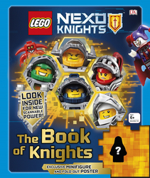 Lego Nexo Knights The Book of Knight, Hardcover Book, By: DK