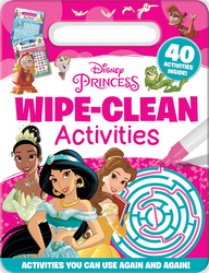 Disney Princess: Wipe-Clean Activities, Paperback Book, By: Igloo Books