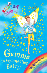Rainbow Magic Gemma The Gymnastic Fairy, Paperback Book, By: Daisy Meadows