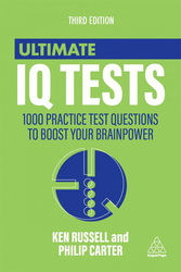 Ultimate IQ Tests Third Edition, Paperback Book, By: Ken Russell and Philip Carter