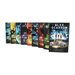 The Time Riders 9-Books Set, Paperback Book, By: Alex Scarrow