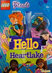 Lego Friends Hello Heartlake, Paperback Book, By: Centum Books