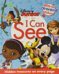 Disney Junior I Can See, Paperback Book, By: Parragon Books Ltd