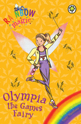 Rainbow Magic Early Reader, Olympia The Games Fairy, Paperback Book, By: Daisy Meadows
