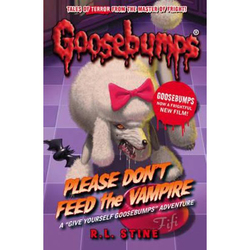 Goosebumps Horror land Please Don't Feed the Vampire, Paperback Book, By: R.L. Stine