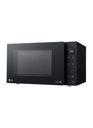 LG 23L Neo Chef Microwave Oven with Smart Invertor & White LED Display, MS2336GIB, 1000W, Black