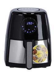 Krypton 3.5L Digital Air Fryer with Hot Air Circulation Technology, 1500W, KNAF6227, Silver/Black