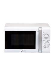 Midea 20L Solo Microwave, 700W, MM720CTB, White/Silver/Black