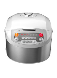 Philips 1.8L Viva Collection Fuzzy Logic Rice Cooker, 980W, HD3038, Silver