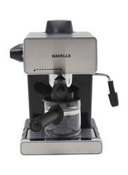 Havells 4 Cups Donato Espresso and Coffee Maker, Donato3.5B, Silver