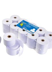 Sinarline Adding Machine Printer Paper Roll, 7 x 7 x 1.2cm, White