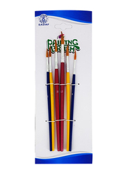 Sadaf Painting Brush Set, 1305-6A, PD-88, 6 Pieces, Blue/Red/Yellow