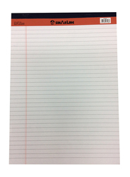 Sinarline Legal Notepad, 40 Sheets, A4 Size, White