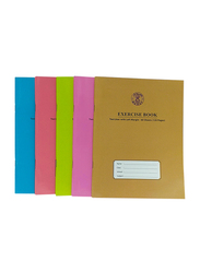 Sadaf 2 Line With Left Margin Ex. Book, 60 Sheets/120 Pages, A5 Size