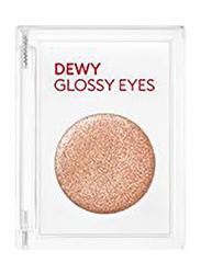 Missha Dewy Glossy Eyeshadow, 12gm, Orange Pekoe, Beige