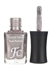 FC Beauty Crystal Sand Nail Polish, 10ml, 05, Silver