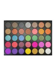 FC Beauty Eye Shadow Palette, 56.2gm, 35 A, Multicolour