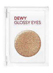 Missha Dewy Glossy Eyeshadow, 12gm, Shooting Brown, Gold