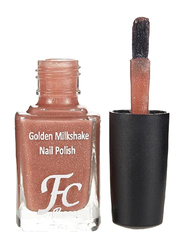 FC Beauty Golden Milk Shake Nail Polish, 10ml, 11, Orange